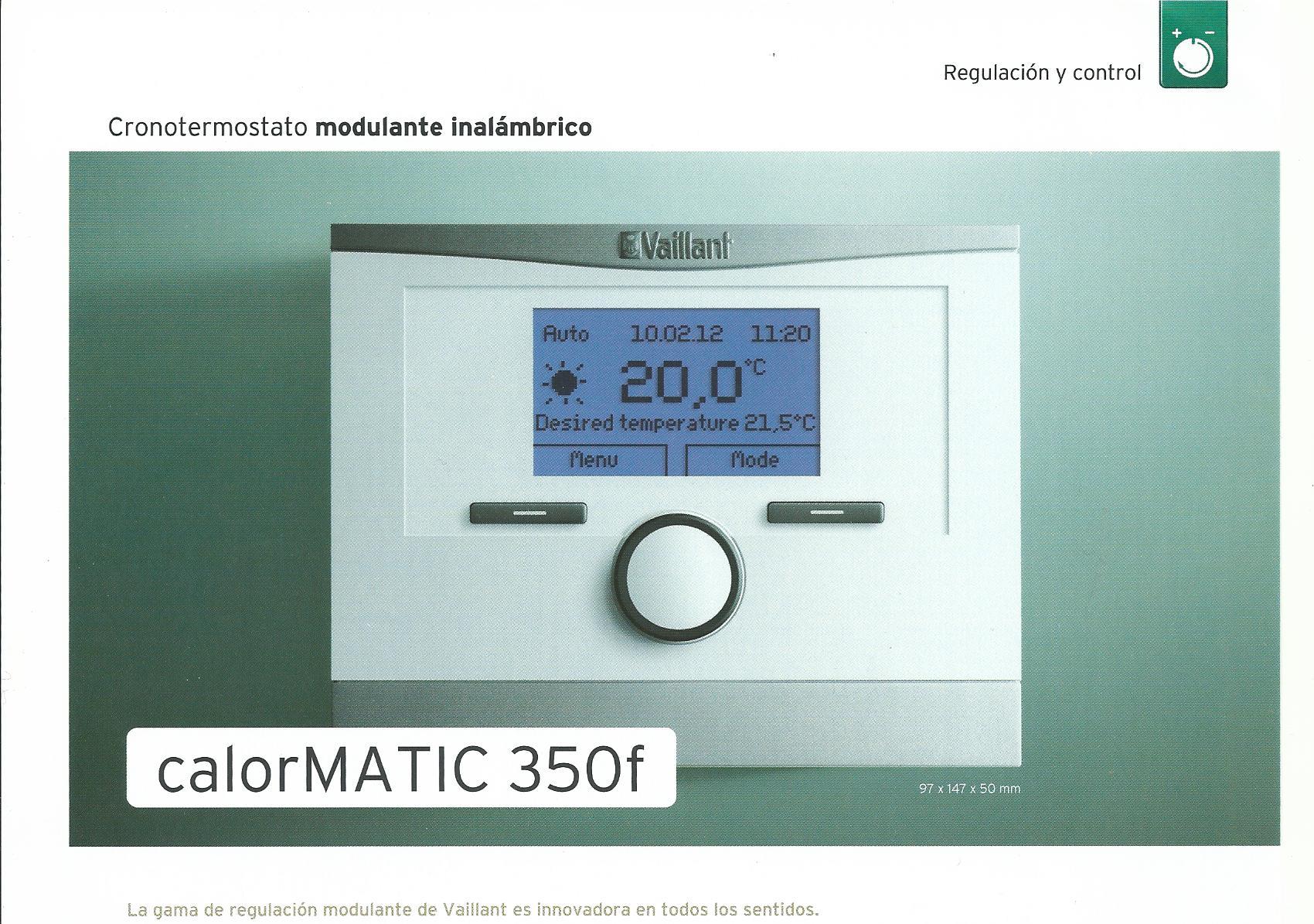 Termostatos para calderas de gas for Termostatos inalambricos para calderas de gas